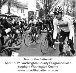 Tour of the Battenkill cycling race, April 18-19