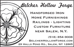 Belcher Hollow Forge, Handforged iron